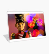 Merry Christmas from toyland, t-shirt Laptop Skin