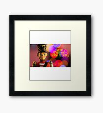 Merry Christmas from toyland, t-shirt Framed Print