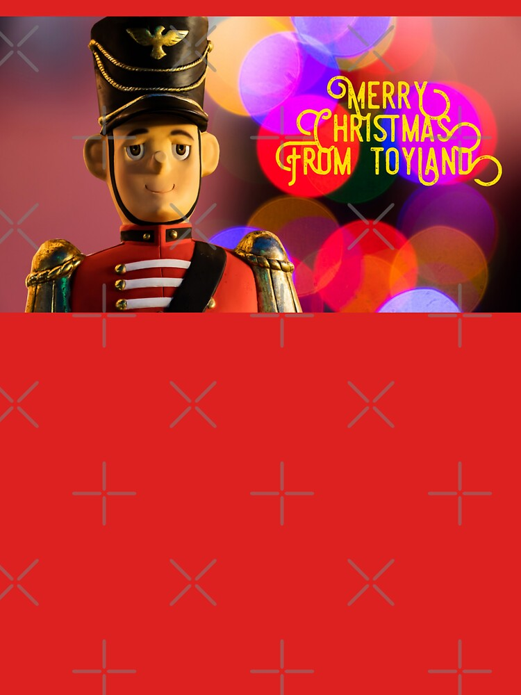 Merry Christmas from toyland, t-shirt by maryspeer