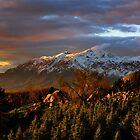 Ben Lomond Peak, Ogden, UT by Len Bomba