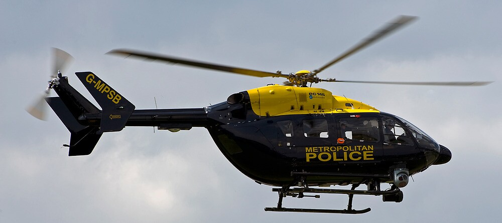 Metropolitan Police Helicopter by mike1242