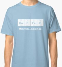 Periodic Table of Coffee - White Classic T-Shirt