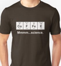 Periodic Table of Coffee - White T-Shirt