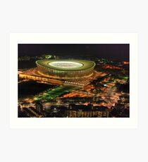 Cape Town Stadium Art Print