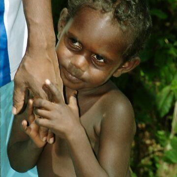 Aboriginal Child by Carole-Anne