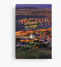 Cape Town CBD & Harbour Canvas Print