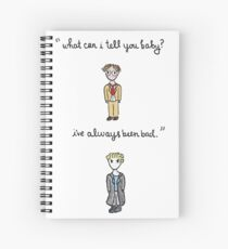 Fool For Love Spike Quote Spiral Notebook