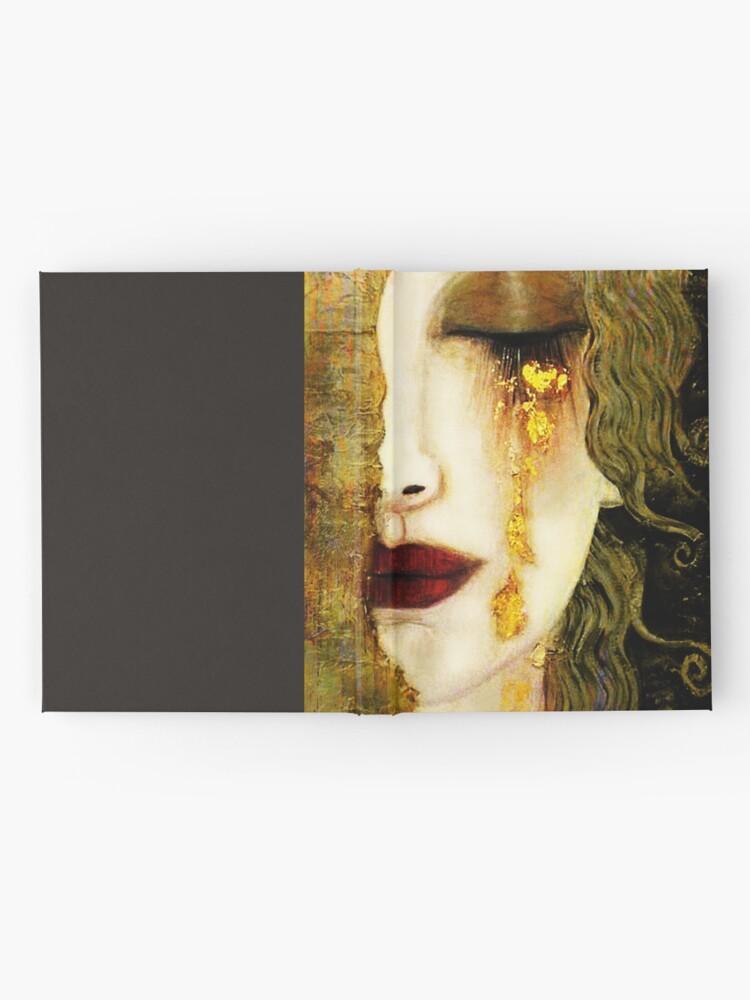 Alternate view of Gustav Klimt,  Golden Tears, Freyas Hardcover Journal