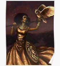 Athena, Göttin der Weisheit Poster