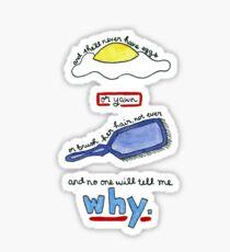 The Body Quote (BtVS) Sticker