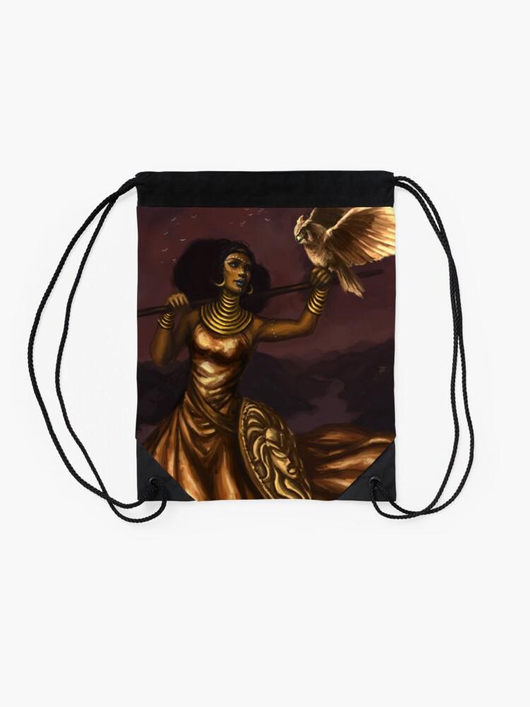 Alternative Ansicht von Athena, Göttin der Weisheit Turnbeutel