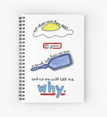 The Body Quote (BtVS) Spiral Notebook