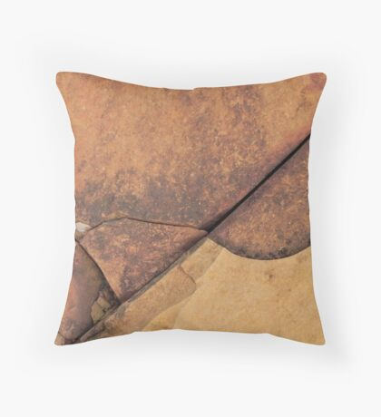 Fissures Throw Pillow