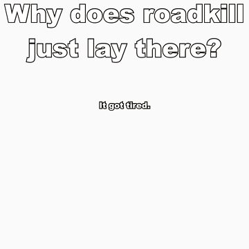 Roadkill: It got tired by flip20xx
