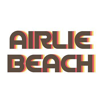 Airlie Beach Retro by designkitsch