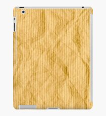 Brown wrapping paper iPad Case/Skin