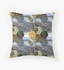 Glimpses of the Slieve Bloom 2 Throw Pillow