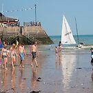 Beautiful Broadstairs Beach: Kent, UK. by DonDavisUK