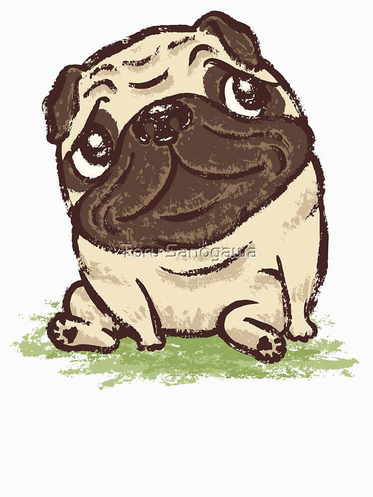 Pug that relaxes by sanogawa