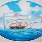 """""""Ship in a Bottle"""" by James McCarthy"""