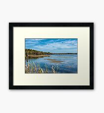 Lake Joondalup, Western Australia Framed Print