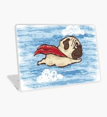 Flying Pug Laptop Skin