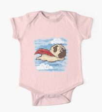 Flying Pug Kids Clothes