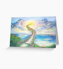 Staiways To Heaven Greeting Card