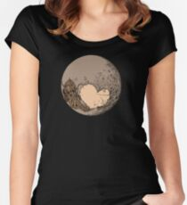 Pluto: With Love from Cthulu Women's Fitted Scoop T-Shirt