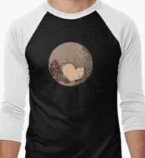Pluto: With Love from Cthulu Baseball ¾ Sleeve T-Shirt