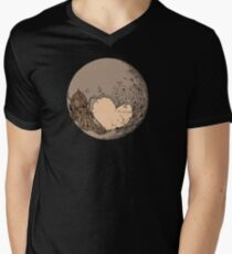 Pluto: With Love from Cthulu Men's V-Neck T-Shirt