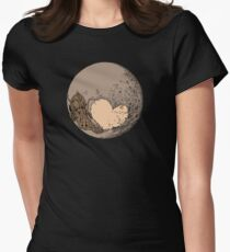 Pluto: With Love from Cthulu Women's Fitted T-Shirt