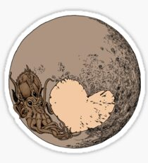 Pluto: With Love from Cthulu Sticker
