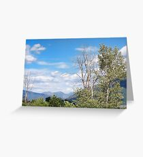 Badrock Canyon Greeting Card