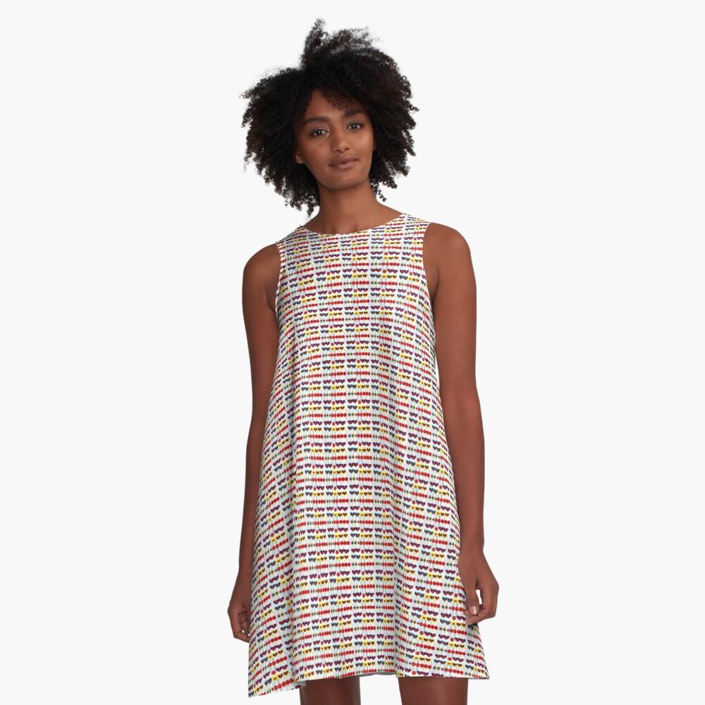 Patterns  A-Linien Kleid