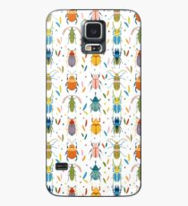 Colourful beetles Case/Skin for Samsung Galaxy