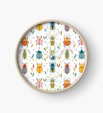 Reloj Escarabajos de colores