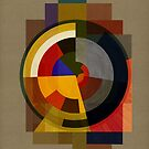Abstract Deco FOUR by BigFatArts