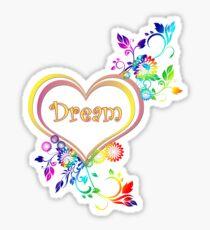 Dream Heart Sticker