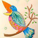 Heavenly Bird 01 - Side angle by jonkania