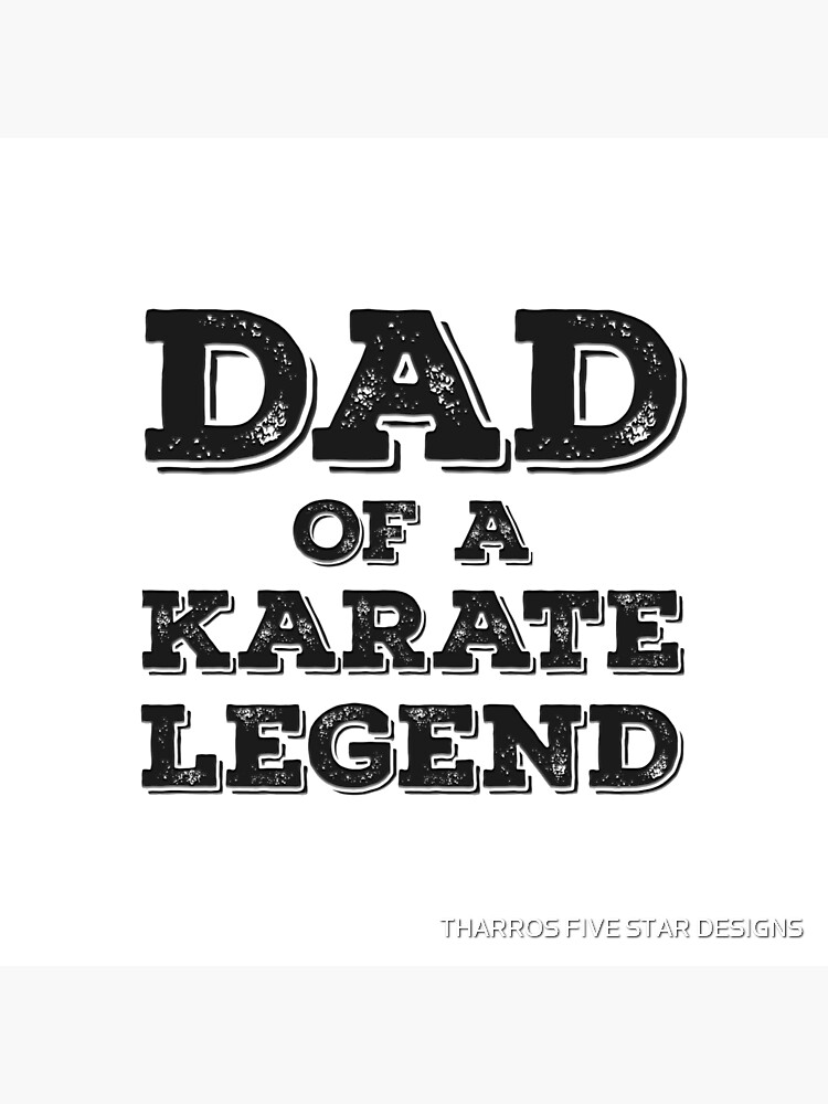 Proud Karate Dad Of A Son Daughter Funny Karateka Father's Day Gift  Idea von kalamiotis13