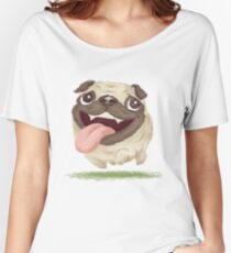 Active pug Women's Relaxed Fit T-Shirt