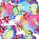 «Cactus y flores» de alquimista