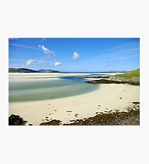 Luskentyre Beach, Outer Hebrides Photographic Print