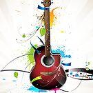 «Guitarra acustica» de alquimista