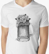 Rose Beer V-Neck T-Shirt