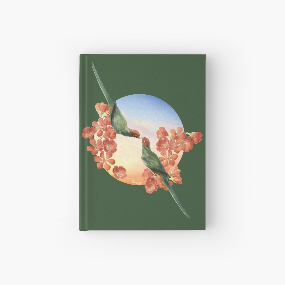 Lover Birds Hardcover Journal