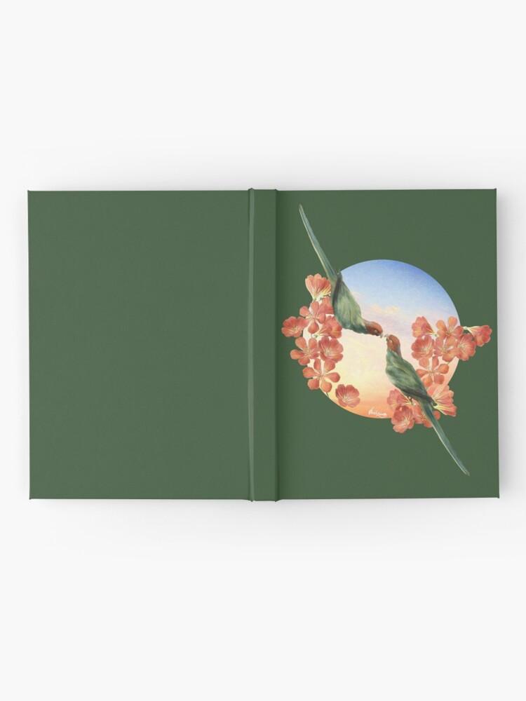Alternate view of Lover Birds Hardcover Journal