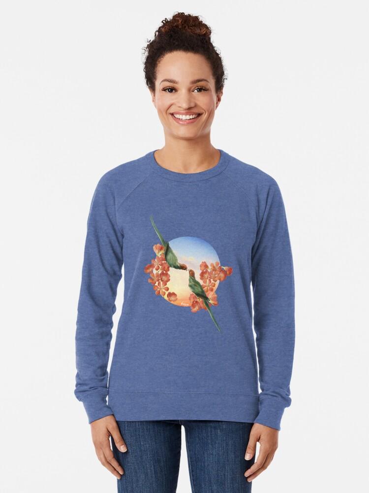 Alternate view of Lover Birds Lightweight Sweatshirt