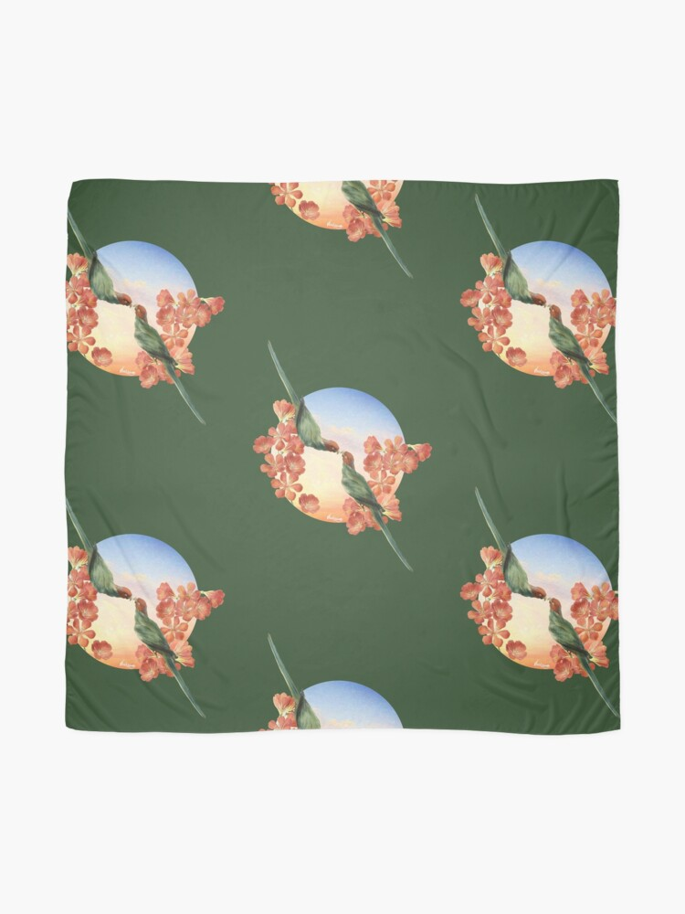 Alternate view of Lover Birds Scarf